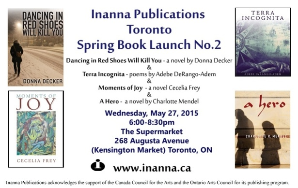 Inanna Publications Spring Book Launch No. 2 Event Info